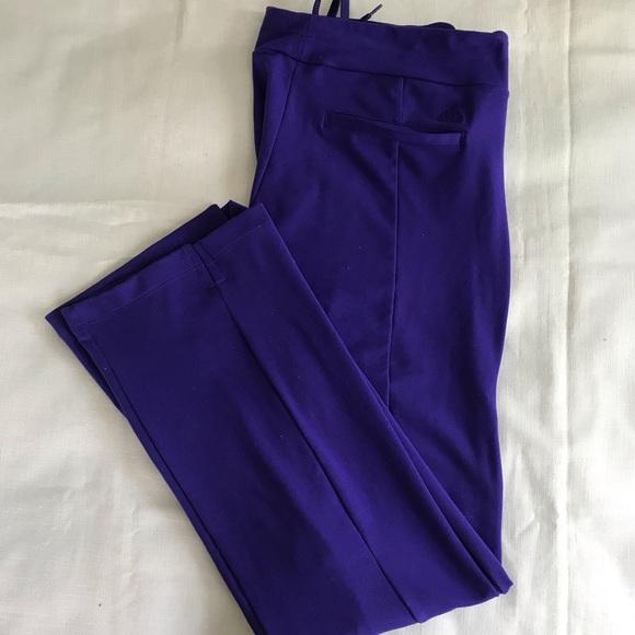 adidas Pants - Adidas Climalite Golf Pants 💫 purple ✨ medium